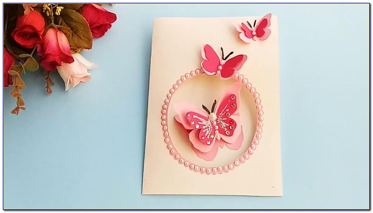 Butterfly Birthday Card Prank