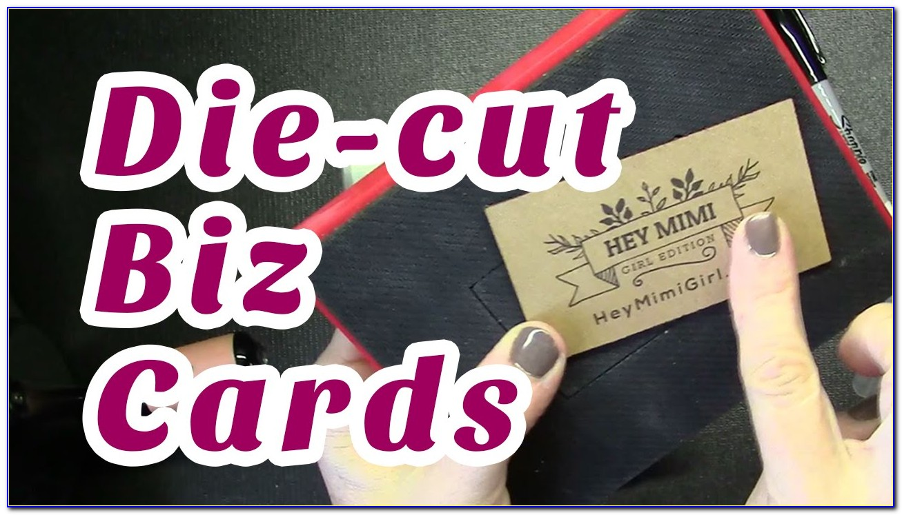 Can I Make Business Cards On My Cricut