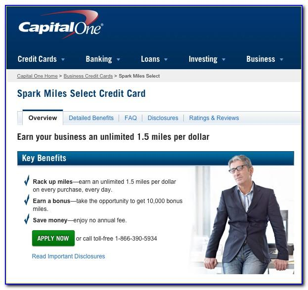 Capital One Spark Cash Business Card Review