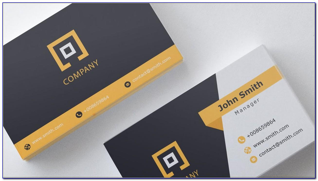 Card Template Free Download