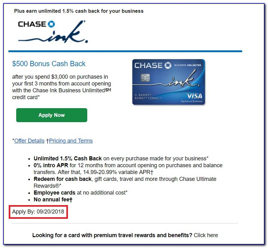 Chase Business Unlimited Credit Card Login