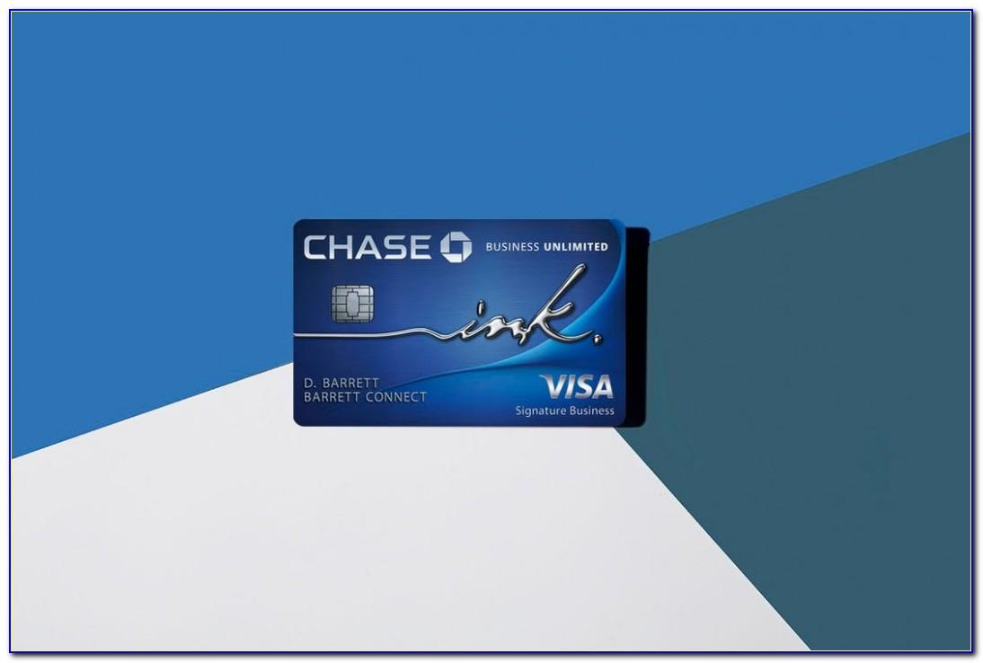 Chase Freedom Unlimited Business Card