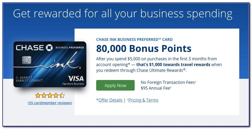Chase Ink Business Unlimited Credit Card Review
