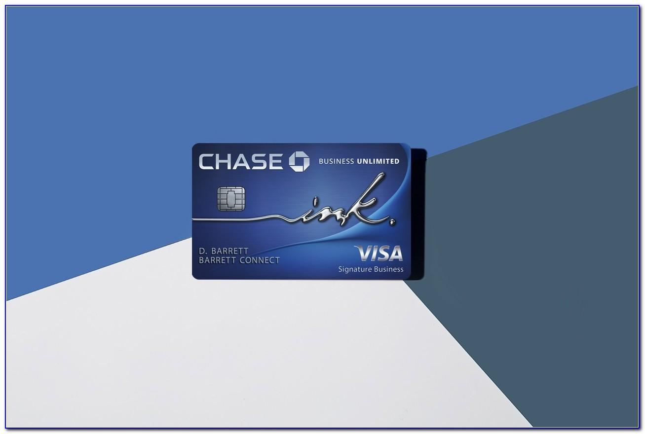 Chase Ink Plus Business Card