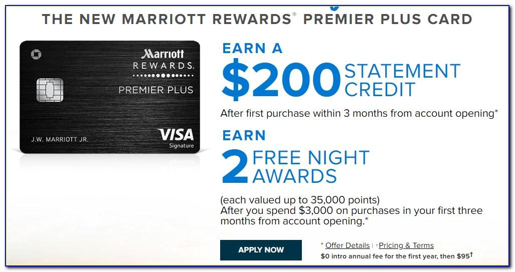 Chase Marriott Card Free Night