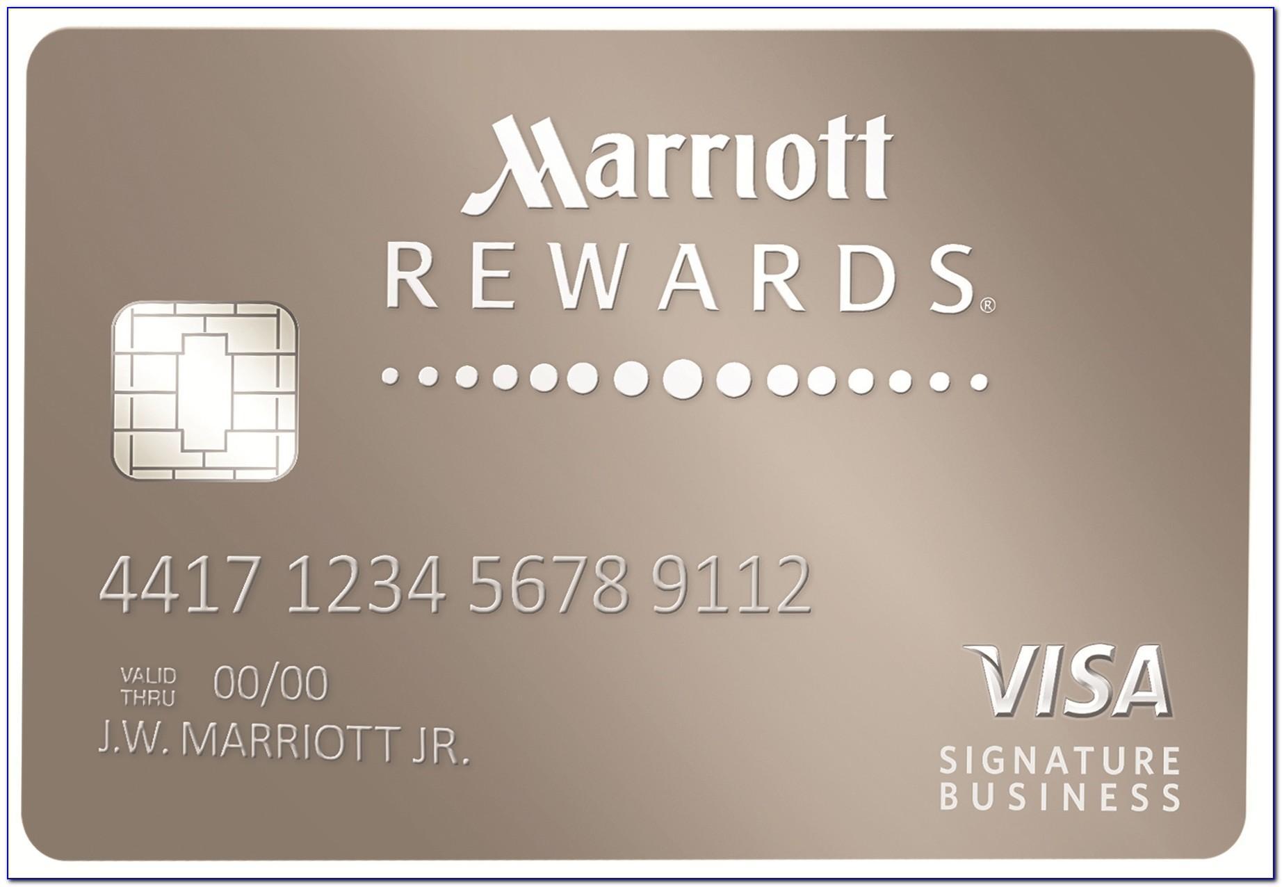 Chase Marriott Rewards Premier Business Credit Card