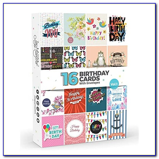 Cheap Multipack Birthday Cards