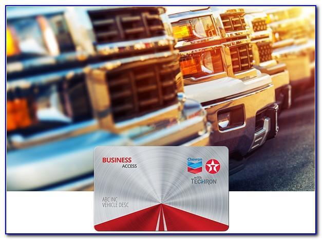 Chevron And Texaco Universal Business Card