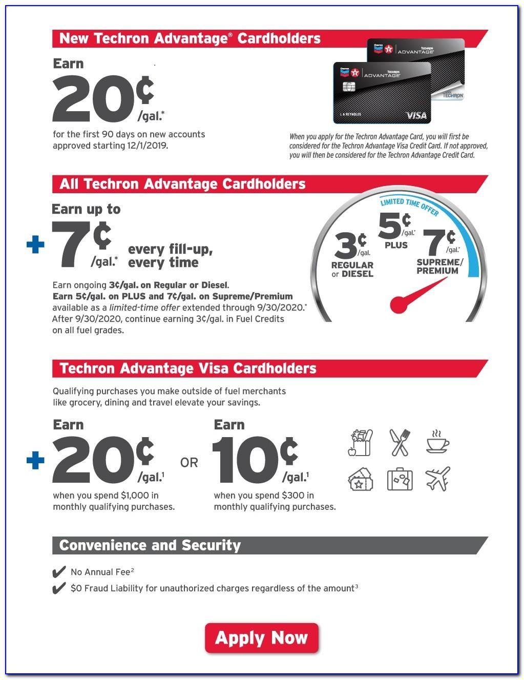 Chevron Texaco Business Credit Card