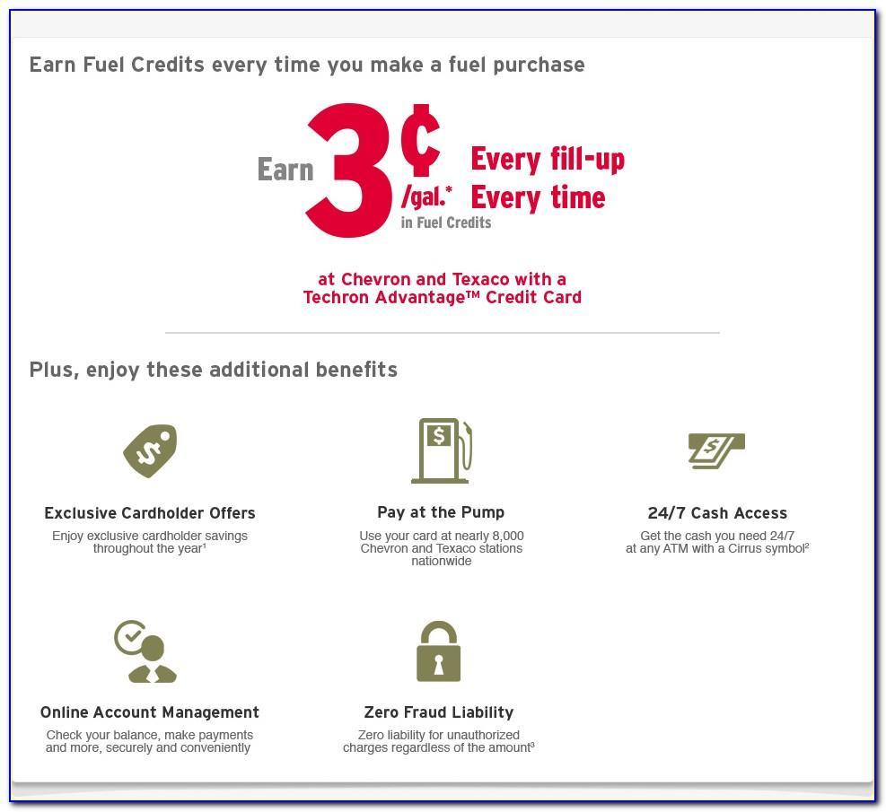 Chevron Texaco Business Gas Card