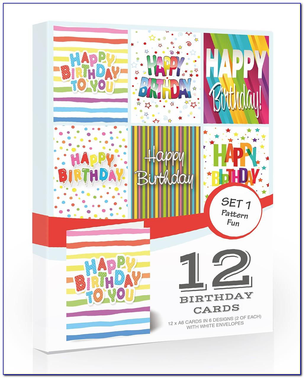 Children's Birthday Cards Multipack