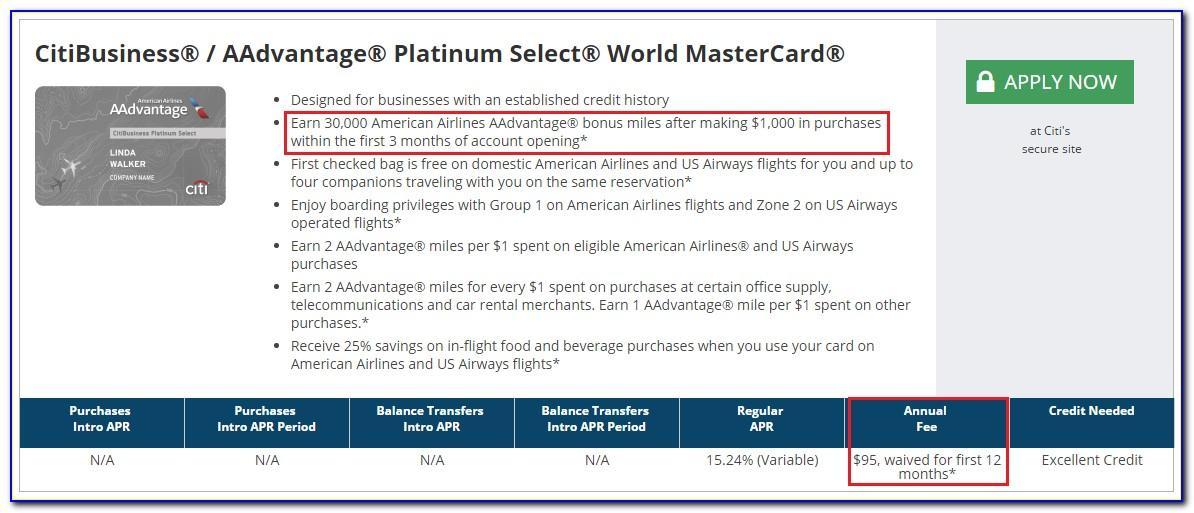 Citi Aadvantage Business Card Benefits