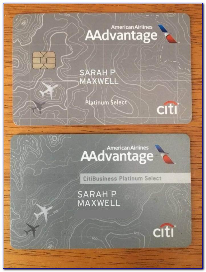 Citi American Airlines Business Card