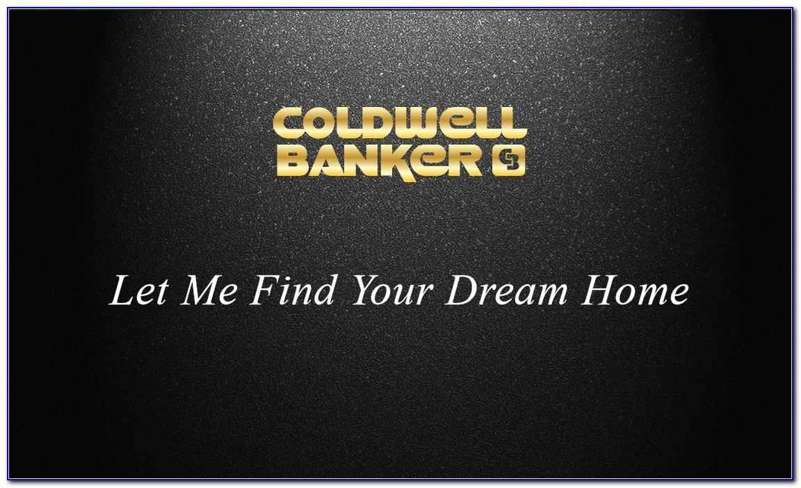 Coldwell Banker Business Cards New Logo