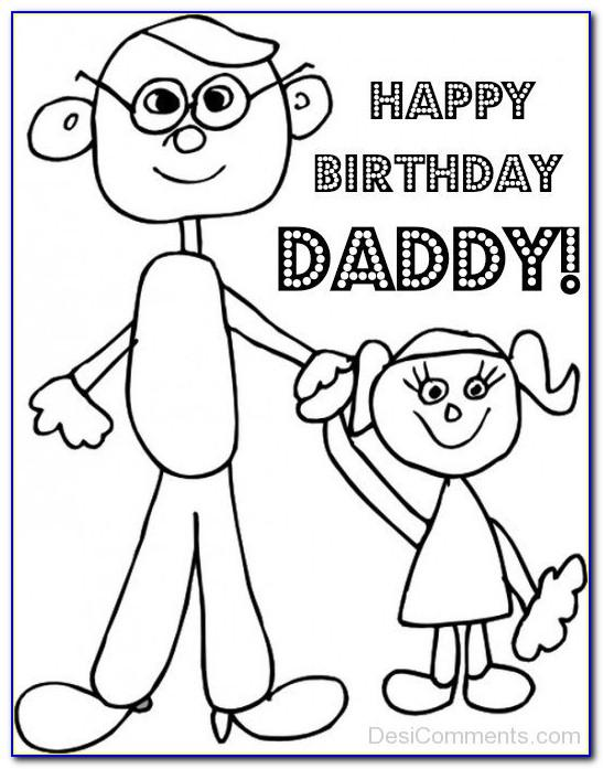 Coloring Birthday Cards For Adults