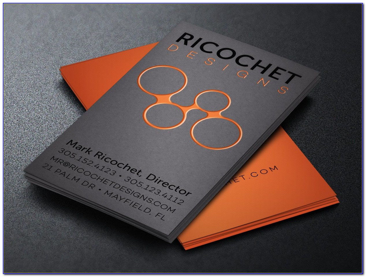 Cool Vertical Business Card Designs