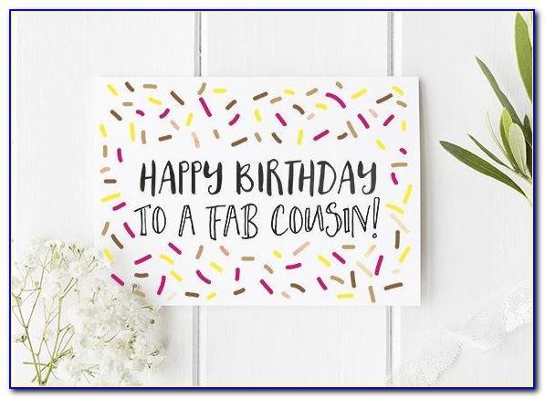 Cousin Birthday Card Amazon