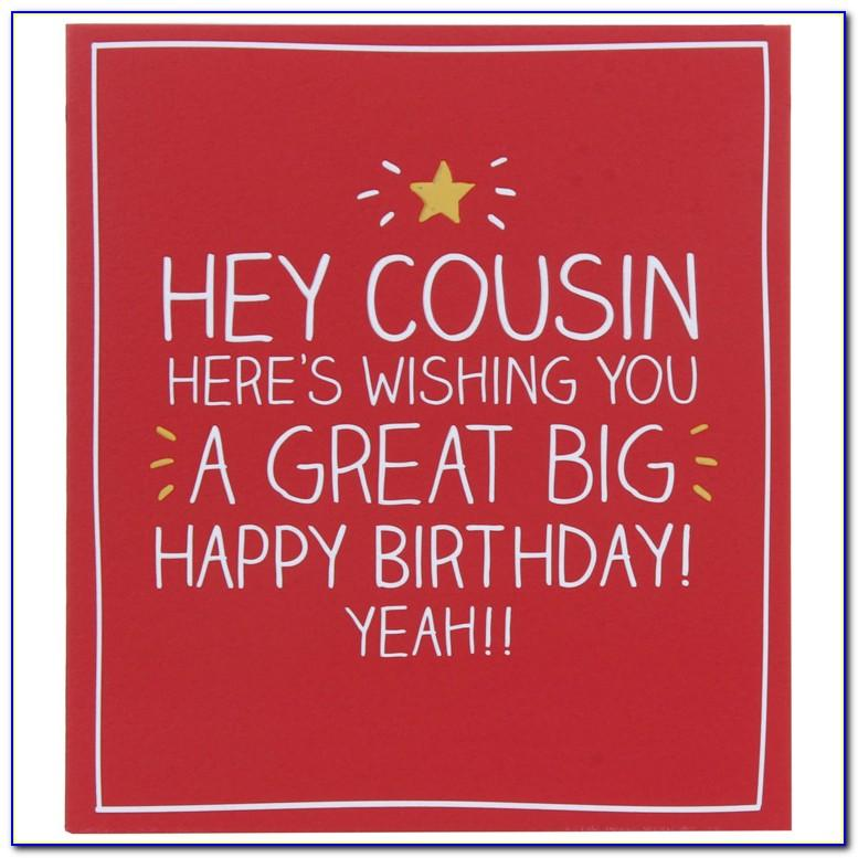 Cousin Birthday Card Images