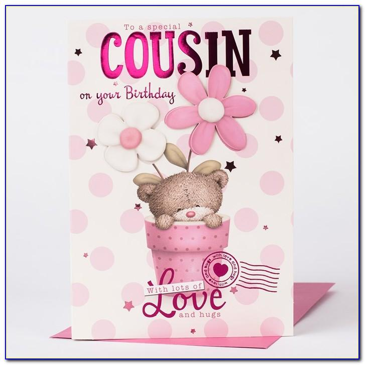 Cousin Birthday Card Messages