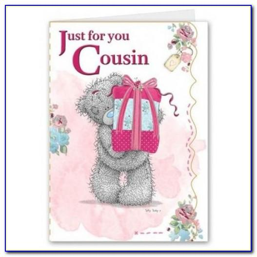 Cousin Birthday Cards Free
