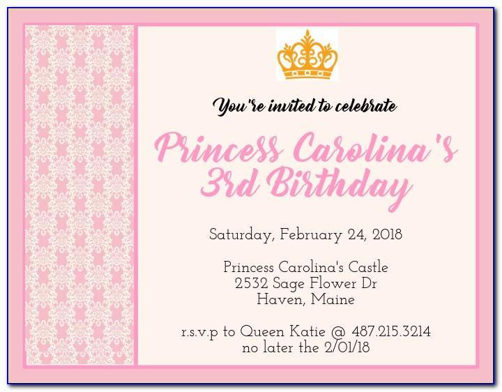 Create Birthday Invitation Card Online Free India