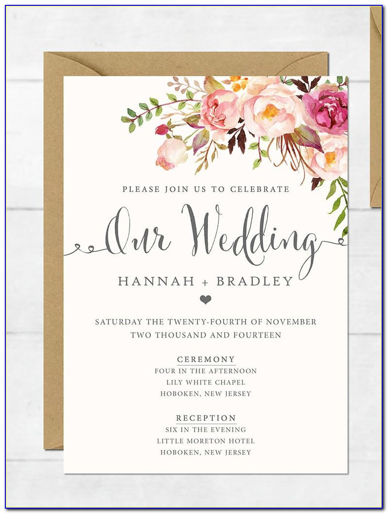 Create Invitation Card Online Free Download
