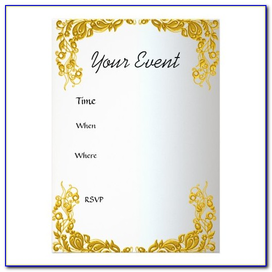 Create Your Own Invitation Card Free