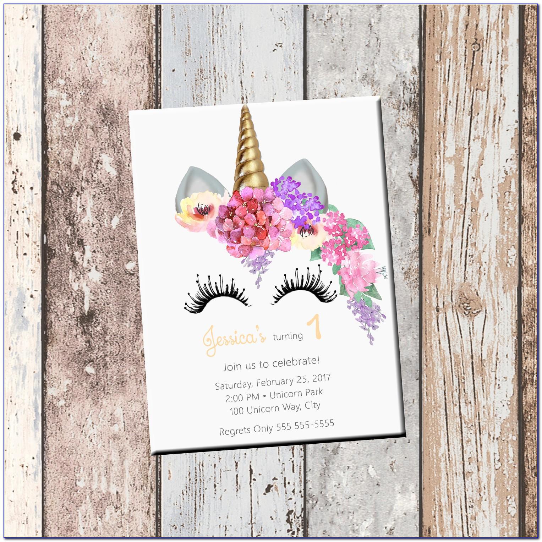 Custom Birthday Invitation Cards