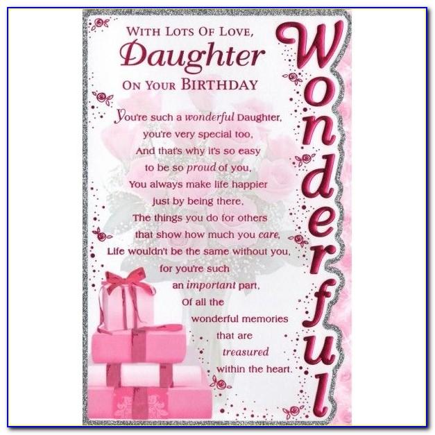 Daughter Birthday Cards Free Download
