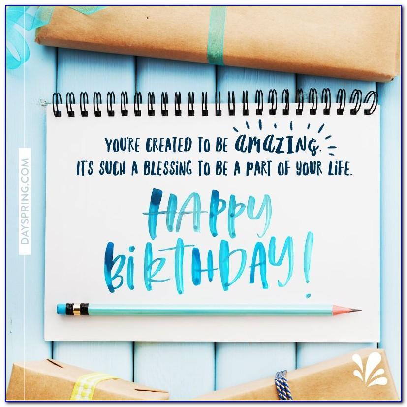 Dayspring Birthday Cards For Grandson