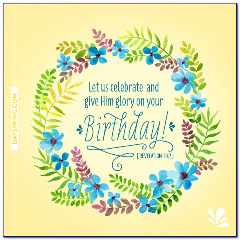 Dayspring Birthday Cards With Scripture
