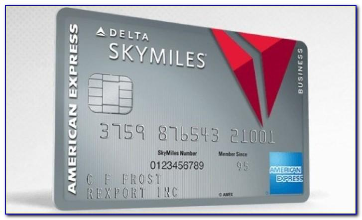 Delta Airlines Business Credit Card