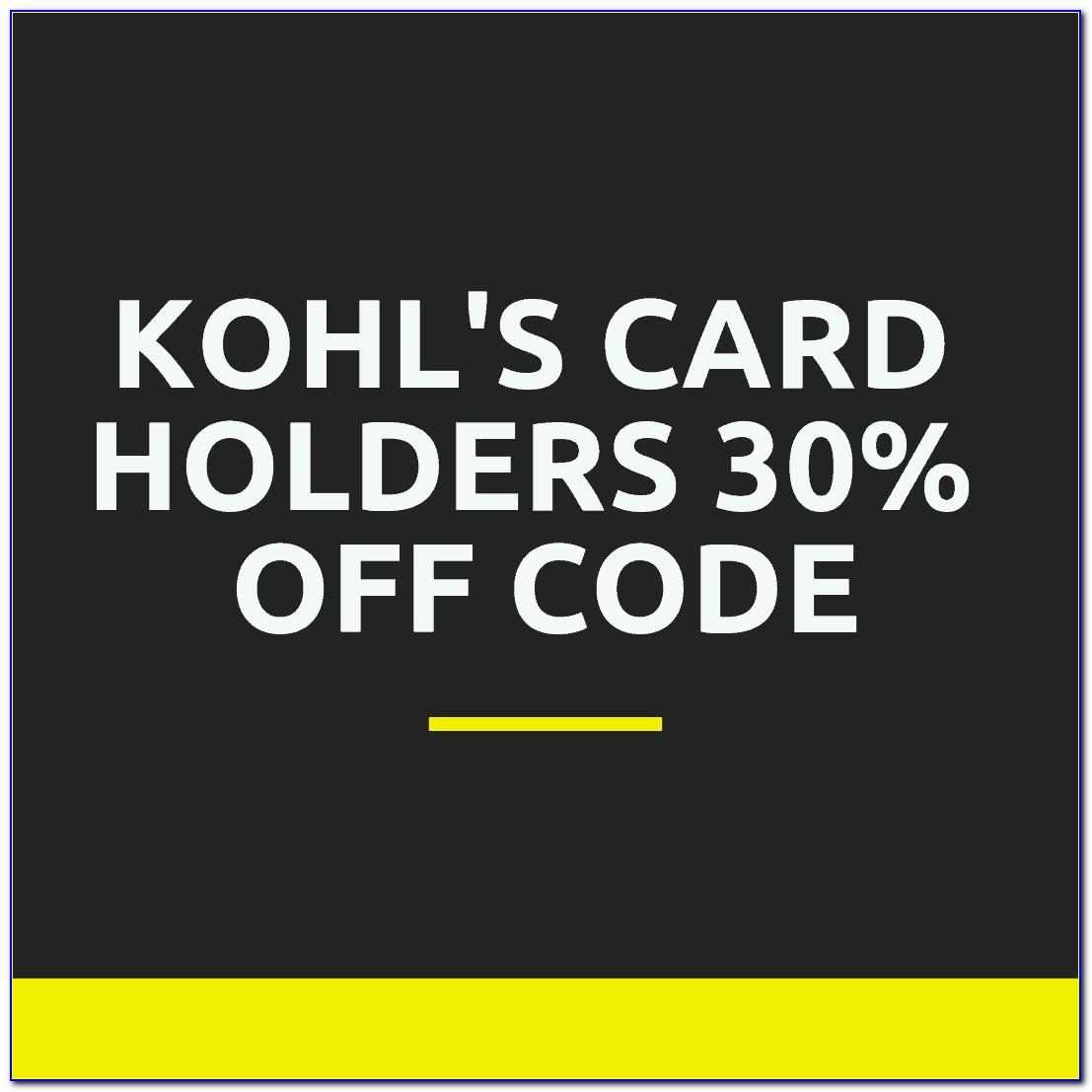 Does Kohls Have Free Shipping For Card Holders