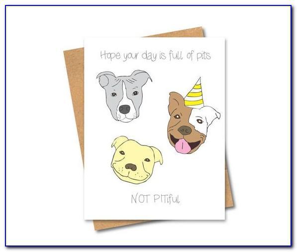 Dog Birthday Cards Free