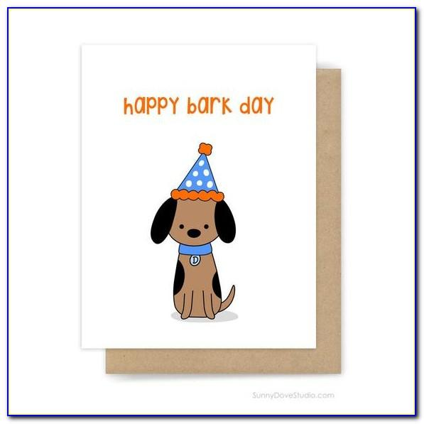 Dog Birthday Cards Uk