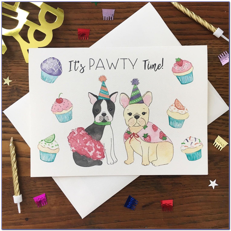 Dog Pun Birthday Cards