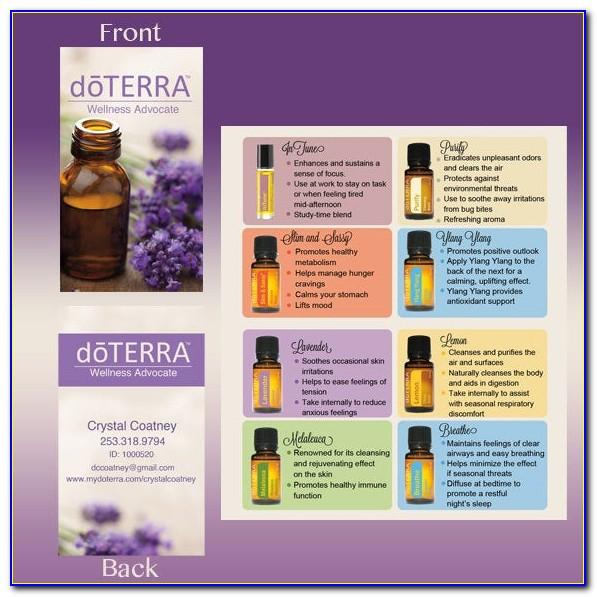Doterra Pictures For Business Cards