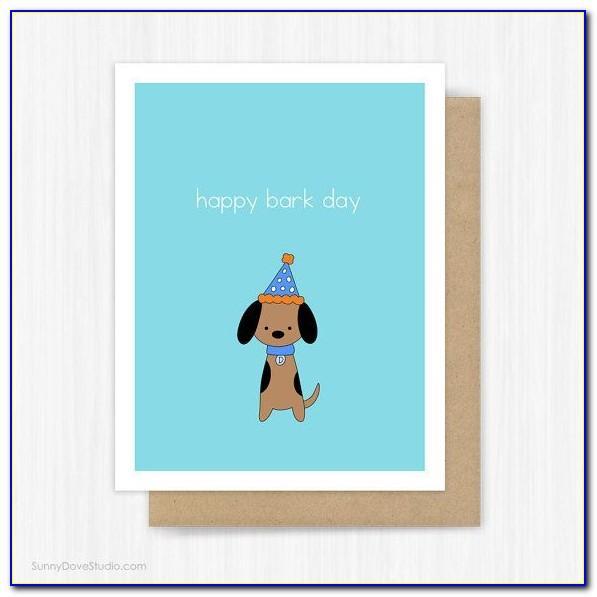 Doug The Pug Birthday Card