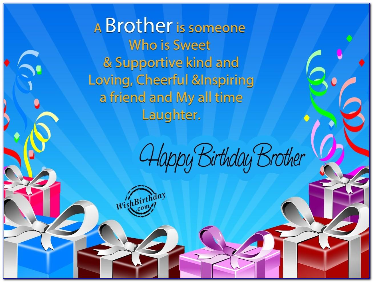 Download Birthday Cards For Brother