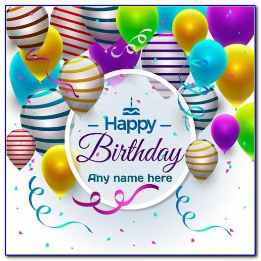 Download Birthday Cards With Name