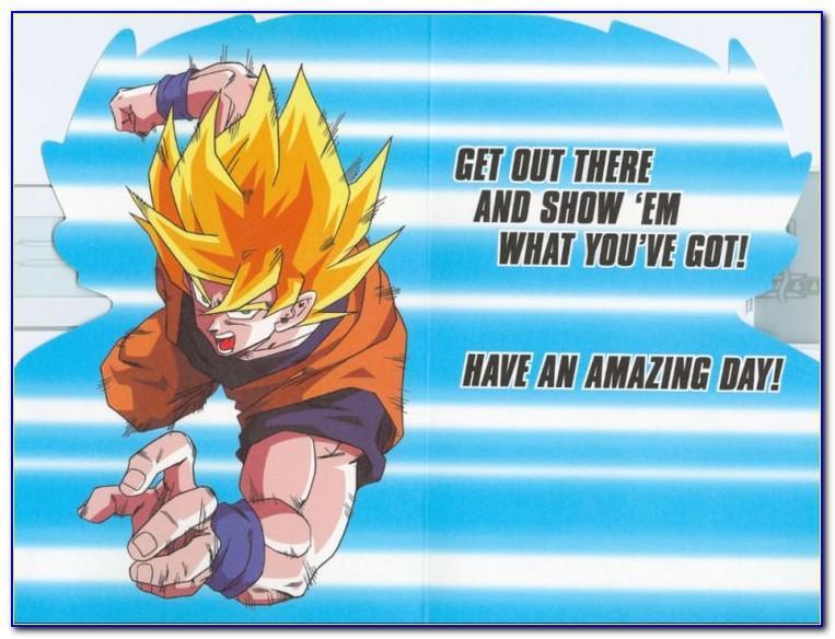 Dragon Ball Z Birthday Ecard