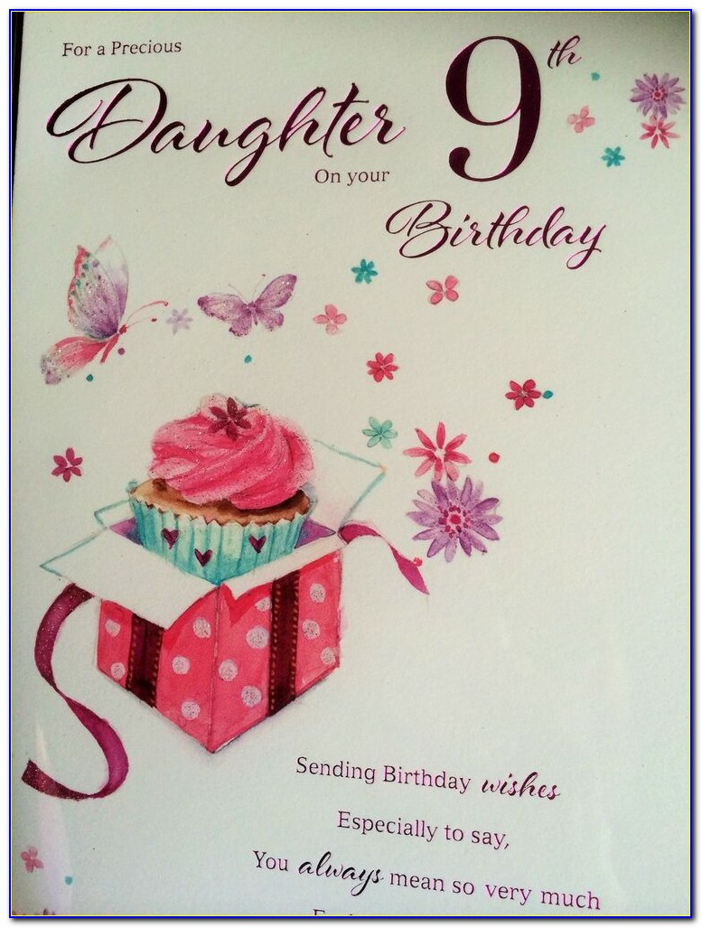Ebay Birthday Cards Daughter