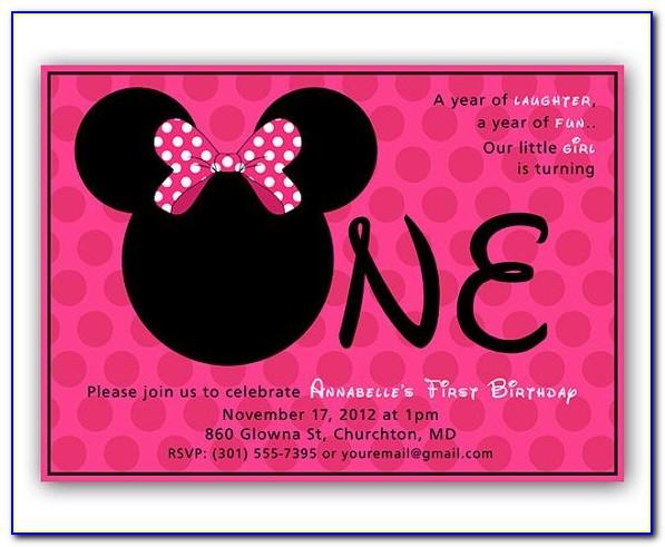 Editable 1st Birthday Invitation Card Free Online