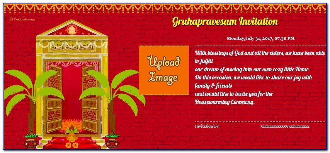 Editable Griha Pravesh Invitation Cards Free Download In Marathi