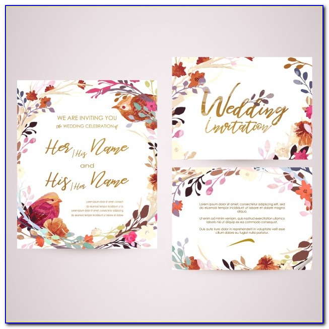 Engagement Ceremony Invitation Cards Free Download