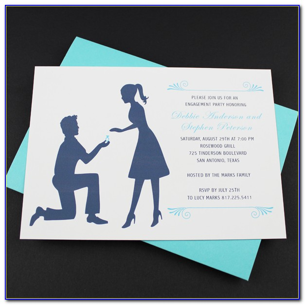 Engagement Invitation Cards Psd Free Download