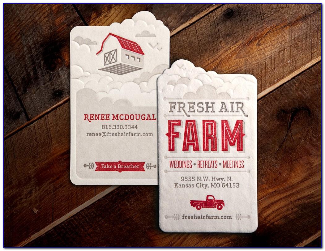 Farm Business Card Designs