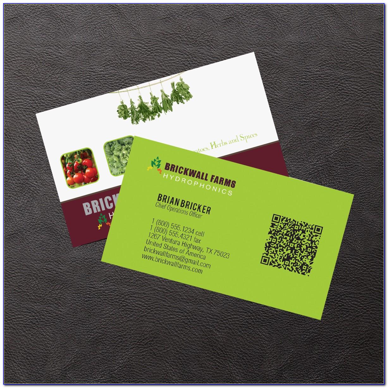 Farm Business Card Template
