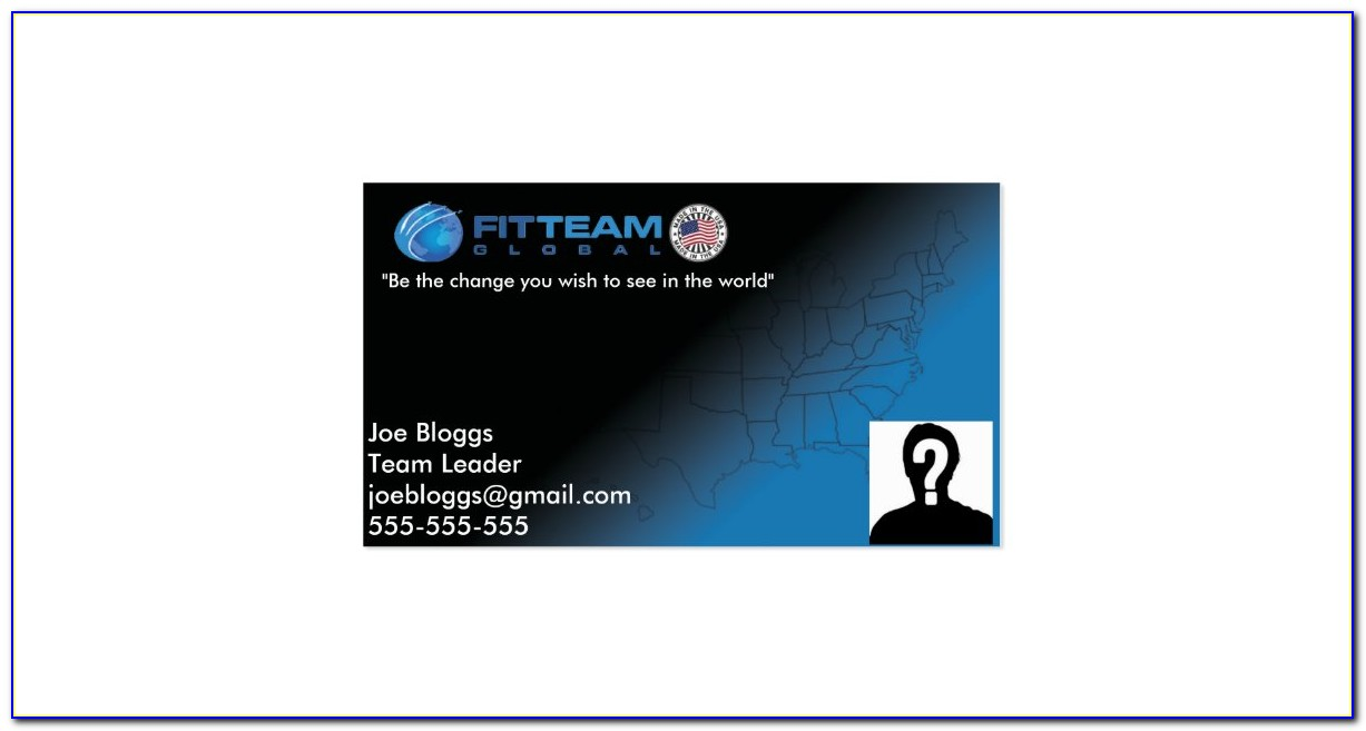 Fitteam Business Cards