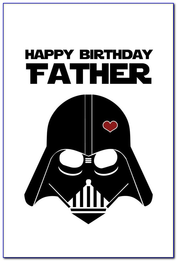 Foldable Free Printable Birthday Cards For Dad